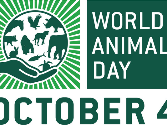 'World Animal Day' - 4 October
