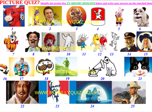 TV Adverts Quiz