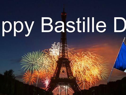 """""""Vive La France"""" on 'Bastille Day', July 14"""