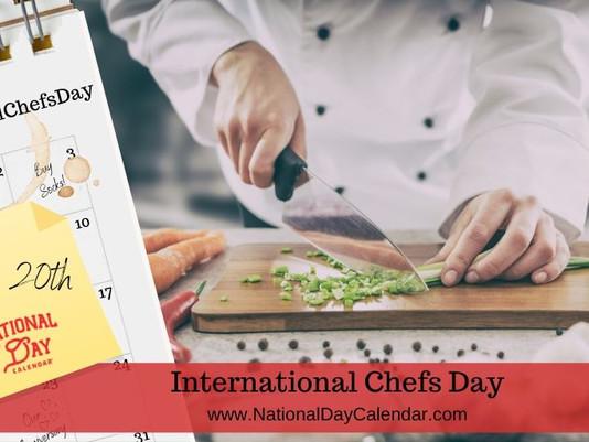 'International Chefs Day' 👩🍳 OCT 20