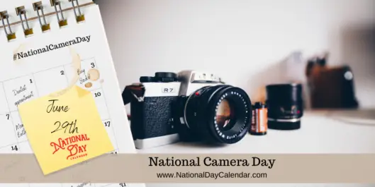 'National Camera Day' June 29