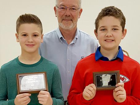 2019 St. Joseph Spelling Bee Winners