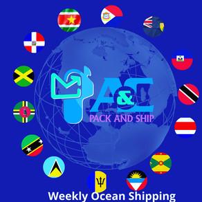 Weekly Shipping Starts May 1, 2021
