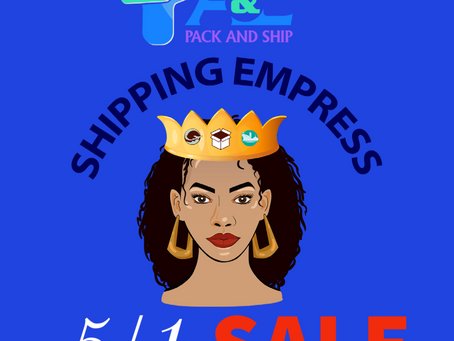 Shipping Sale
