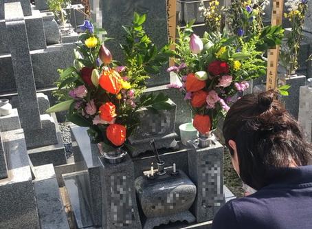 『母をお墓参りに連れて行きたい』