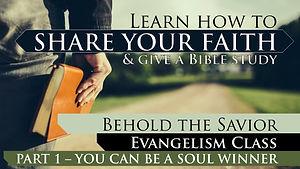 1 - Share Your Faith pt 1 SERMON Thumbna