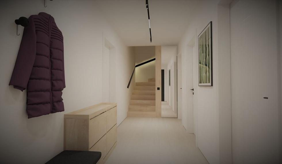 Interieur Haus der Moderne in Etterzhausen Baufirma DEWO Bau GmbH