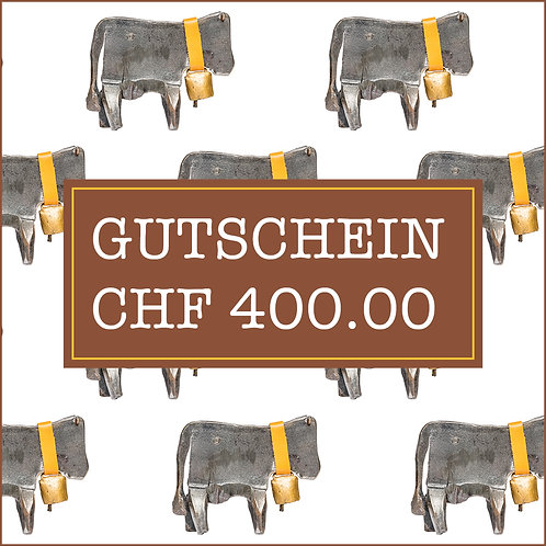 Gutschein CHF 400.00
