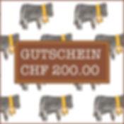 Emil Neff Gutschein CHF 200