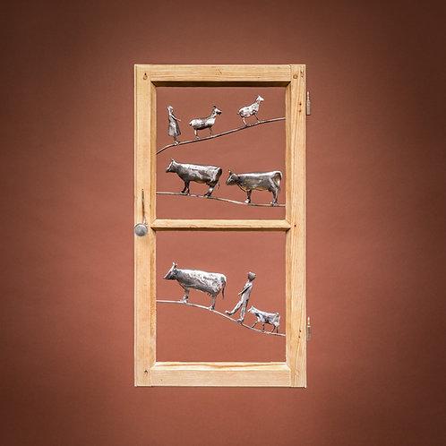 "Fenster ""Alpaufzug Nr. 1"""