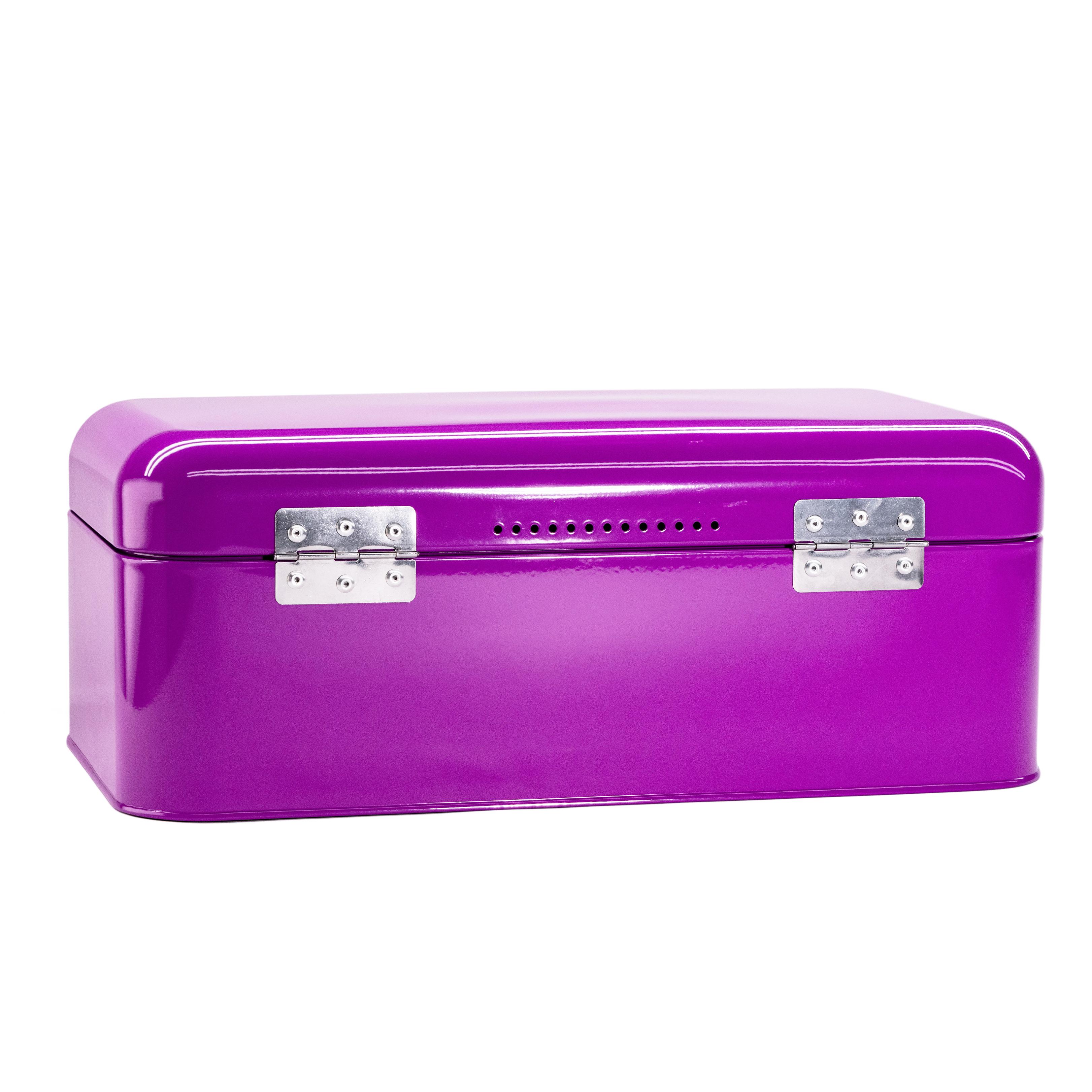 Purple Bread Bin Storage