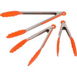 Orange Kitchen Tongs