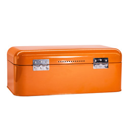 Orange Bread Bin Storage