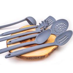 Grey Kitchen Utensils Set