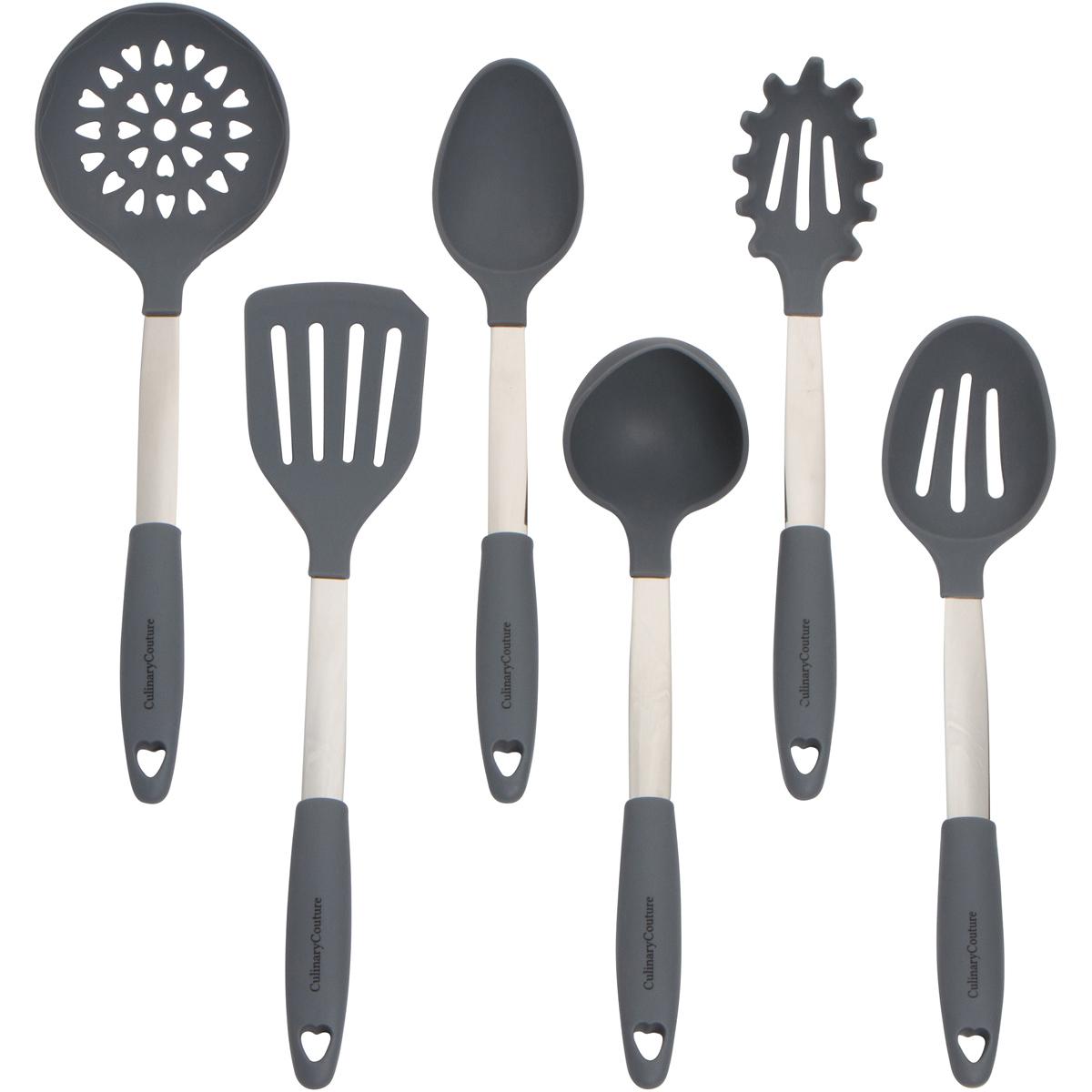 Gray Cooking Utensils