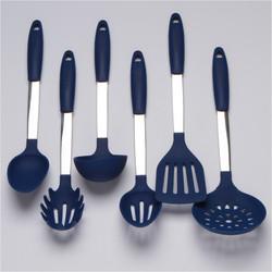 Blue Kitchen Utensils Set