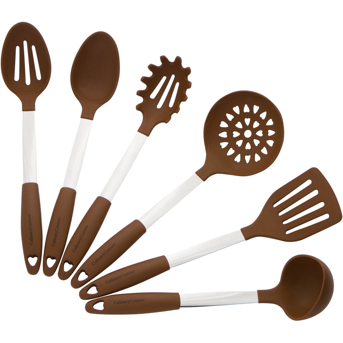 Brown Silicone Utensils