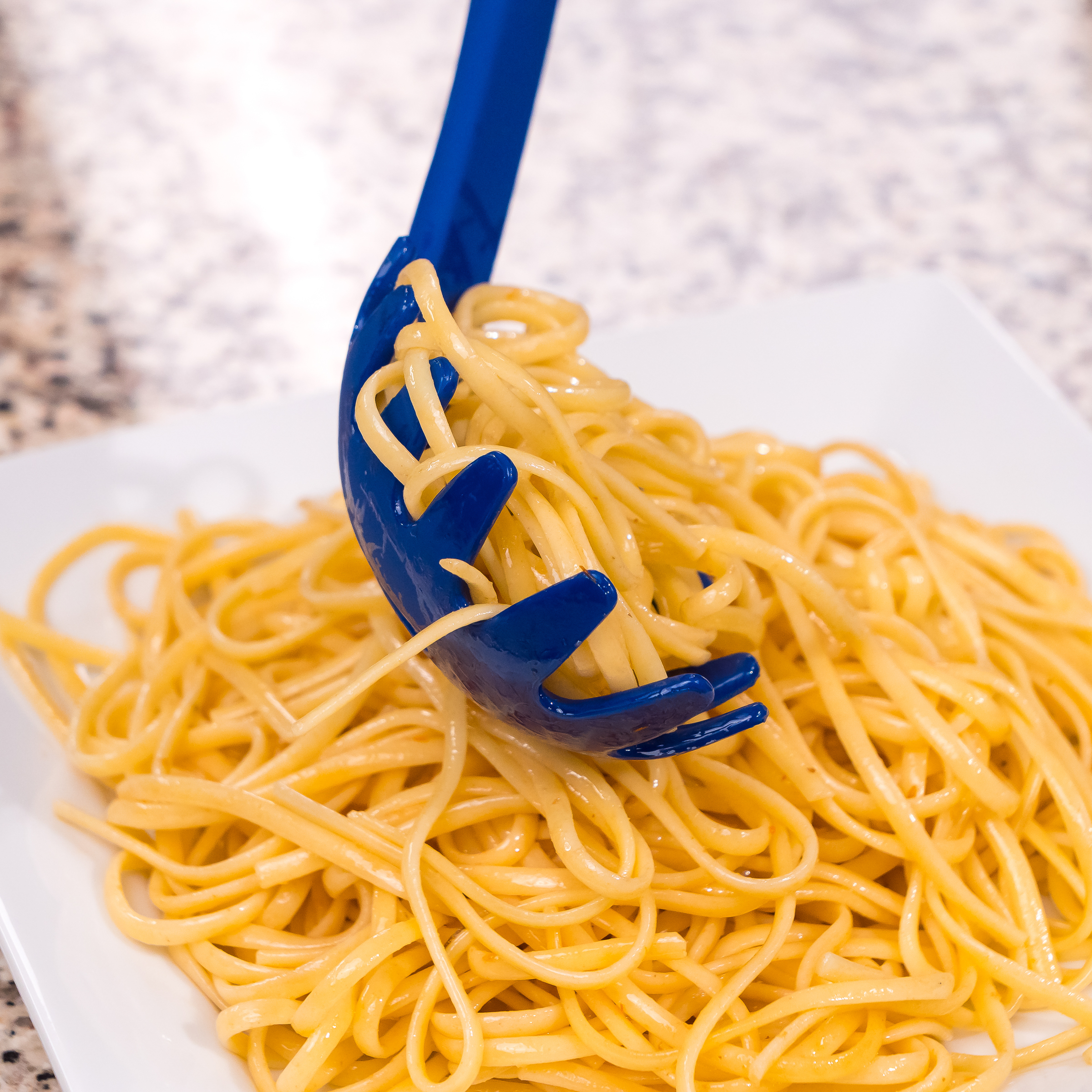 Blue Pasta Server