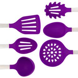 Purple Cooking Utensil Set