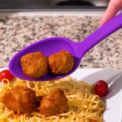 Purple Solid Spoon
