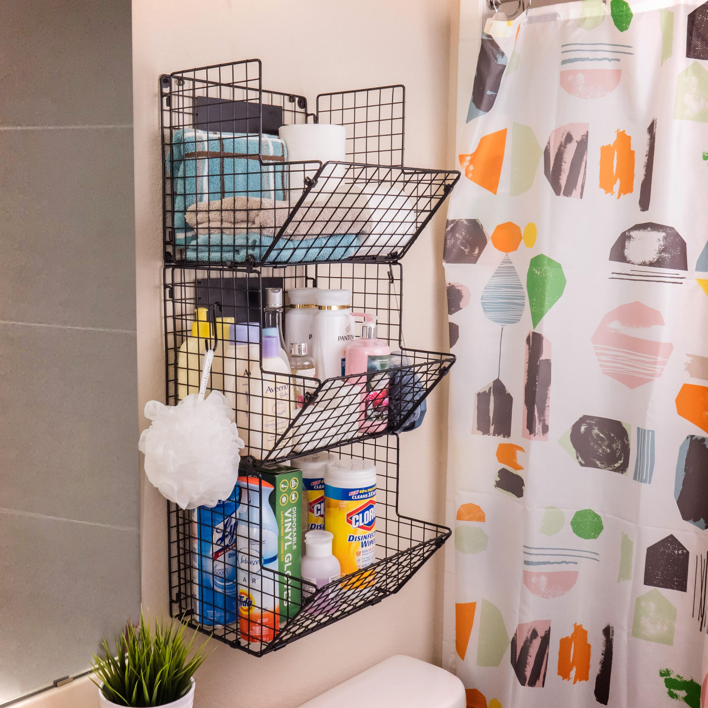 Bathroom Wall Baskets