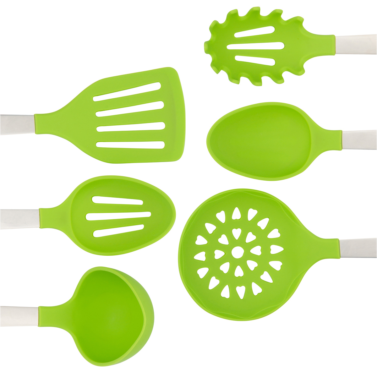 Lime Green Cooking Utensils