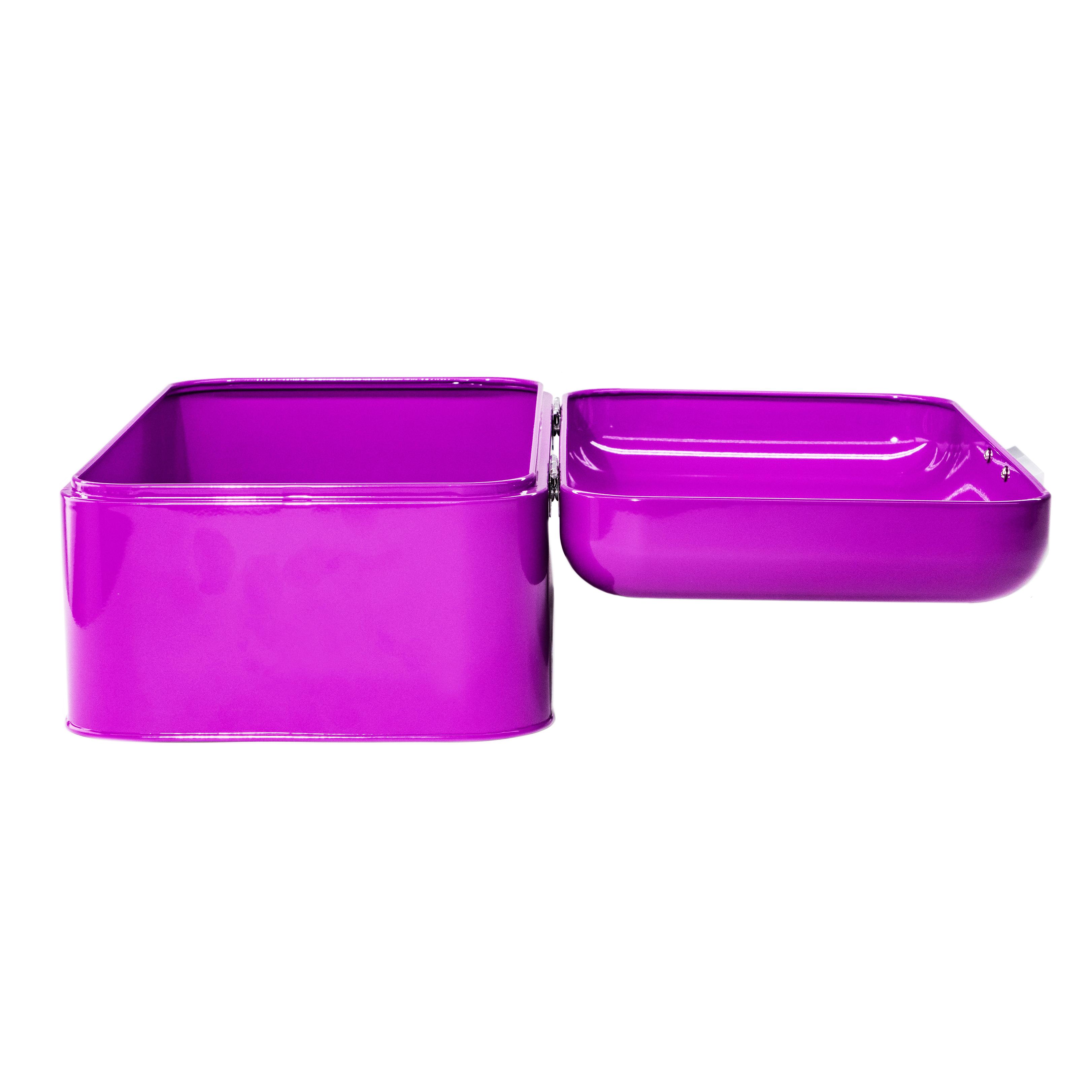 Purple Bread Box Side