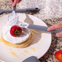 Grey Spatula Pancake Batter
