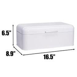 Glossy White Bread Box Infographic