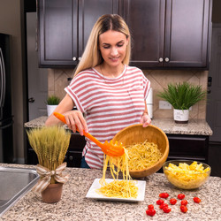 Orange Spaghetti Server