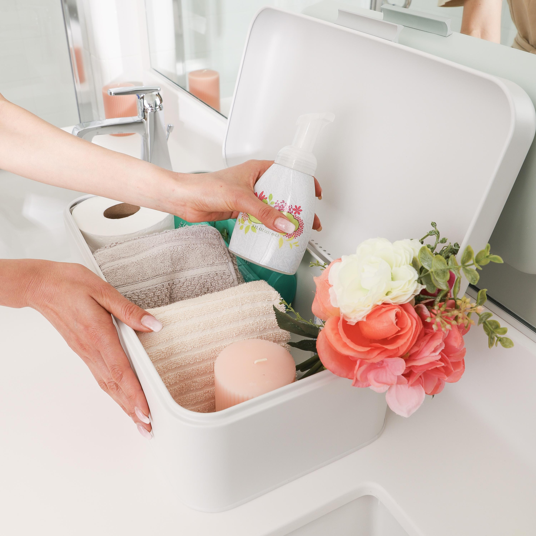 White Breadbox Bathroom