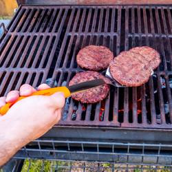 Orange BBQ Grill Tools