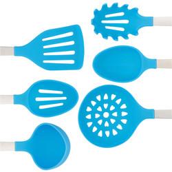 Light Blue Cooking Utensil Set