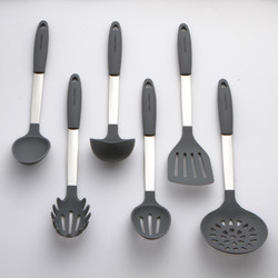 Gray Kitchen Utensils Set