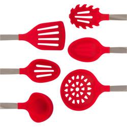 Red Kitchen Utensils