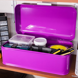 Purple Storage Bin
