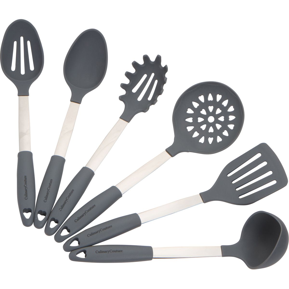 Gray Kitchen Utensils