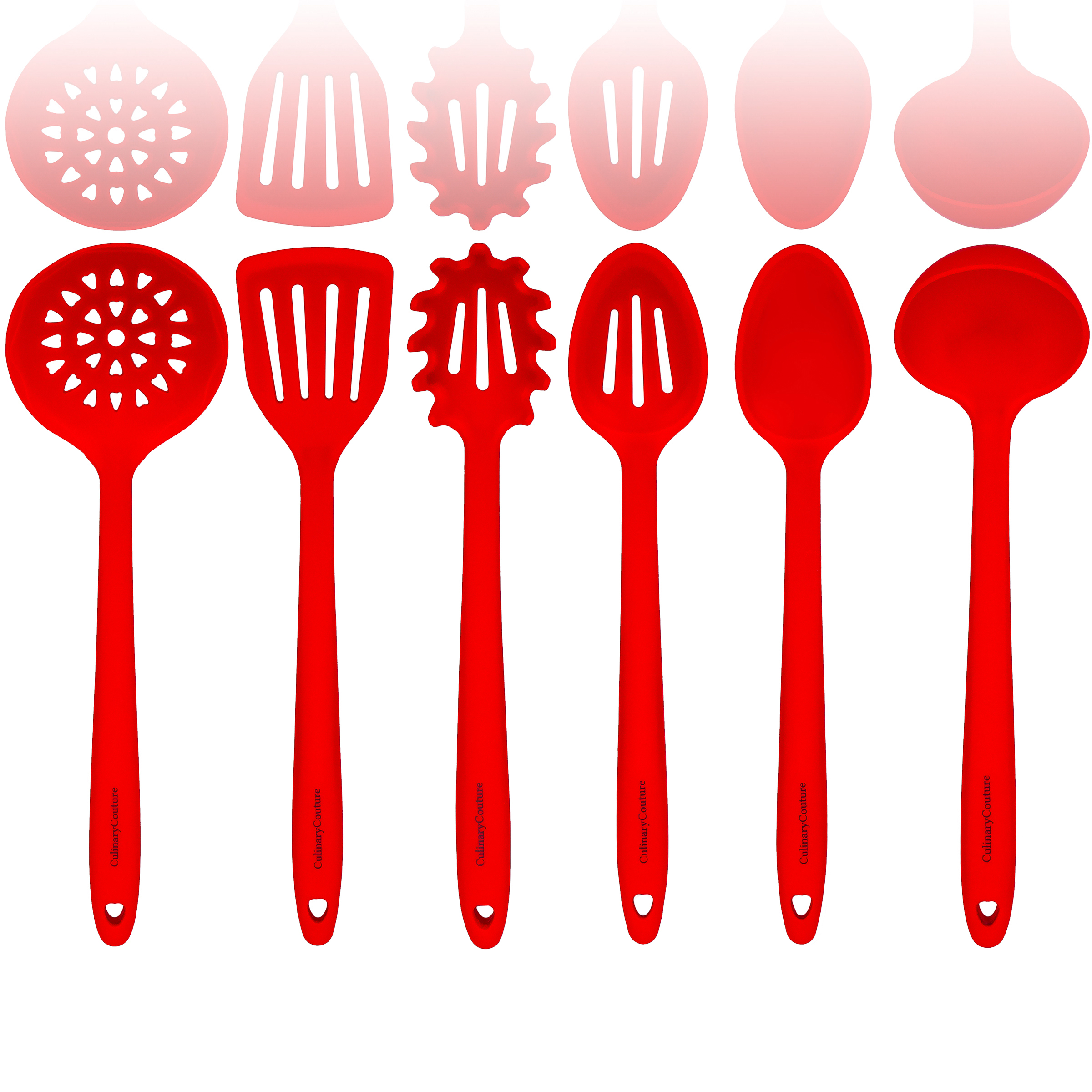 Red Silicone Kitchen Utensils Set copy