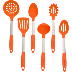 Orange Cooking Utensils