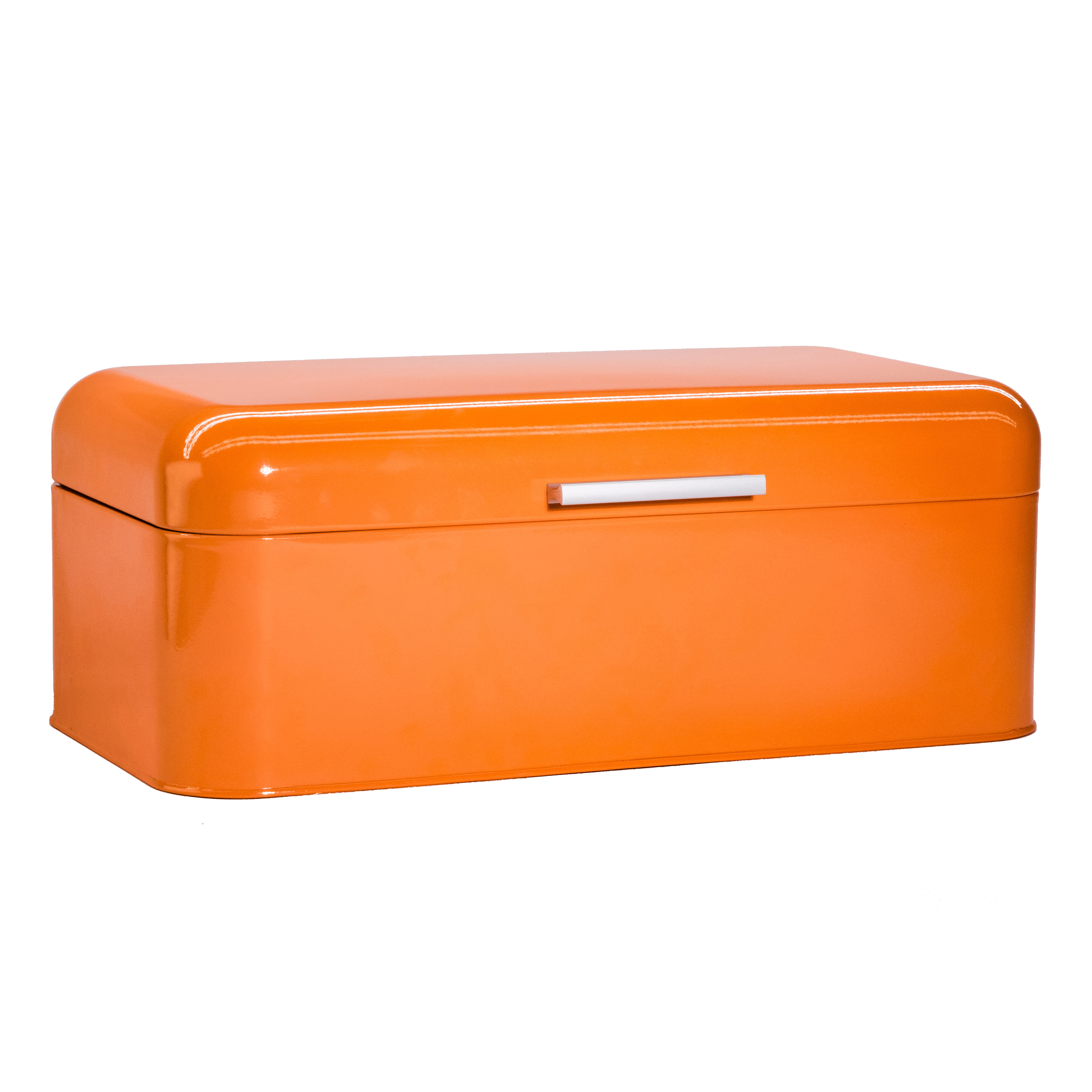 Orange Bread Box