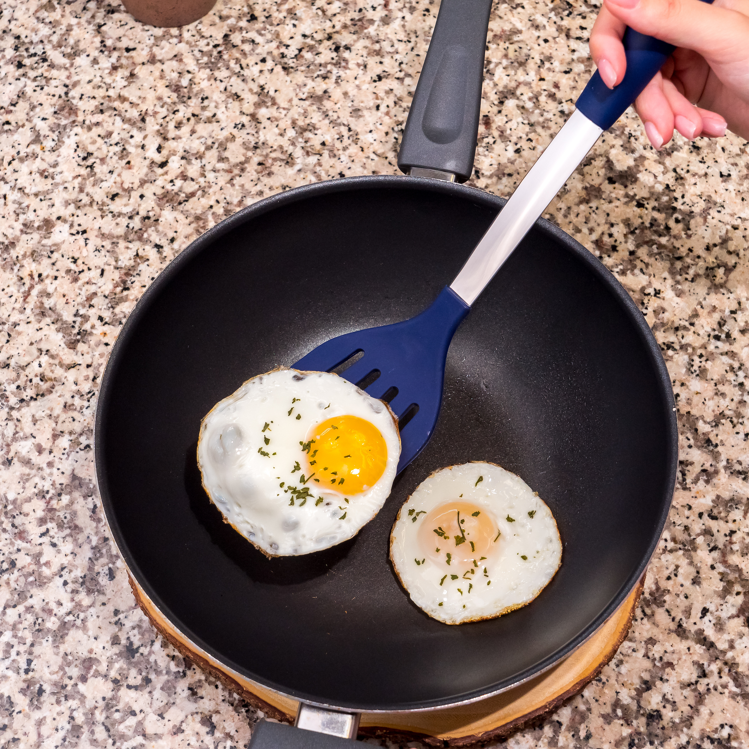 Blue Egg Spatula Flipper