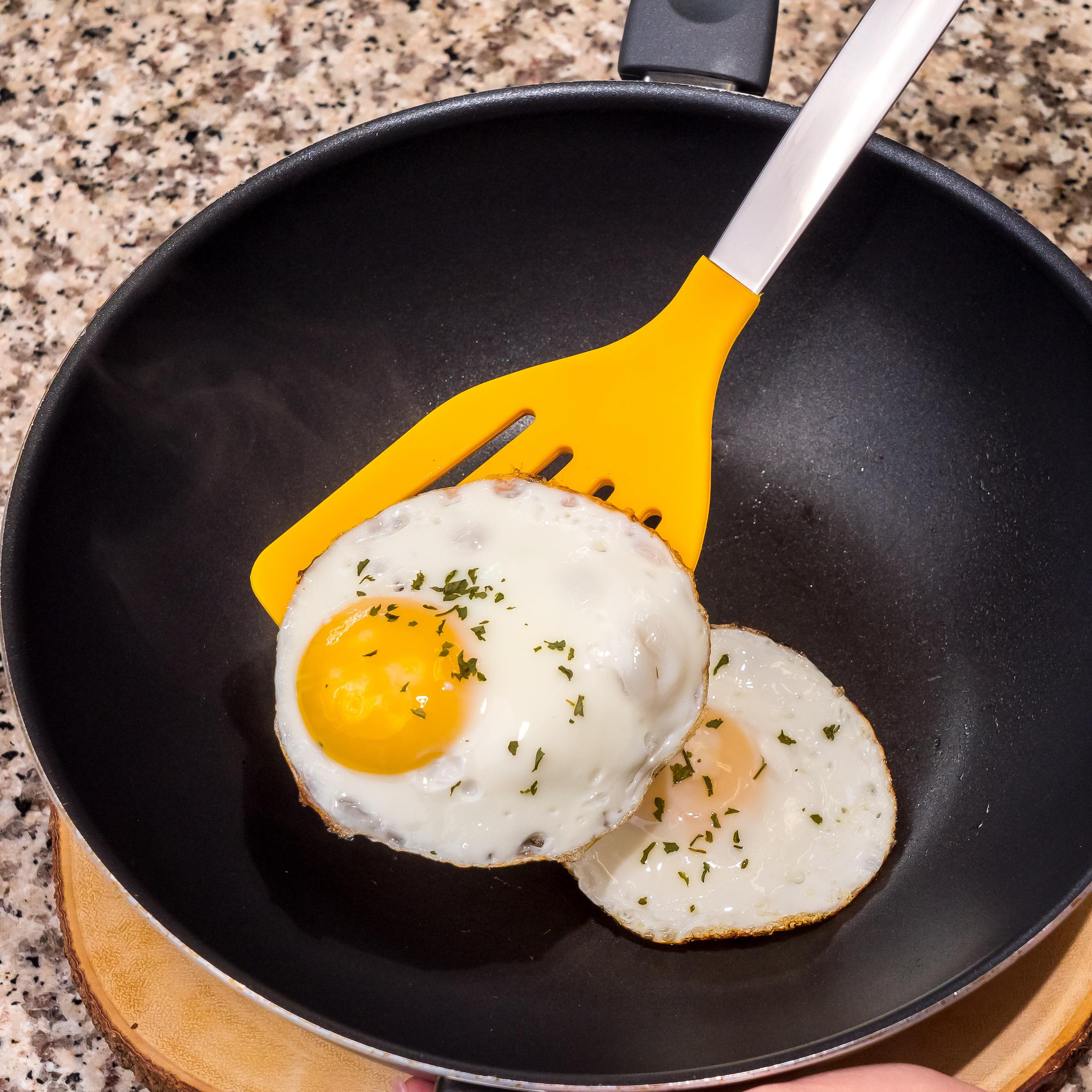 Yellow Egg Flipper Tools