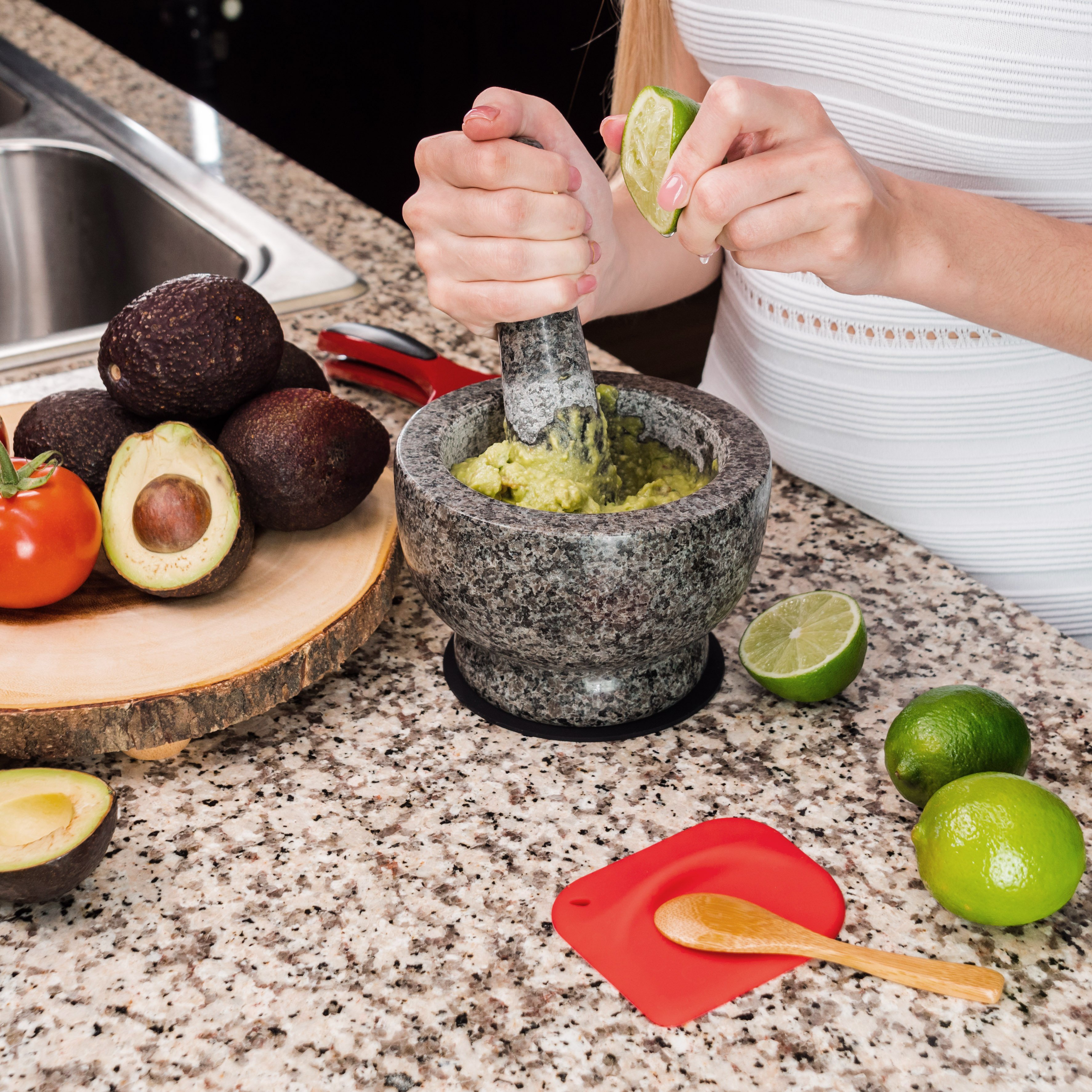 Guacamole Bowl Mortar Pestle