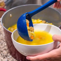 Blue Soup Ladle