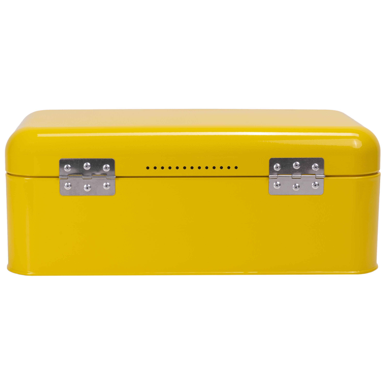 Yellow BreadBox