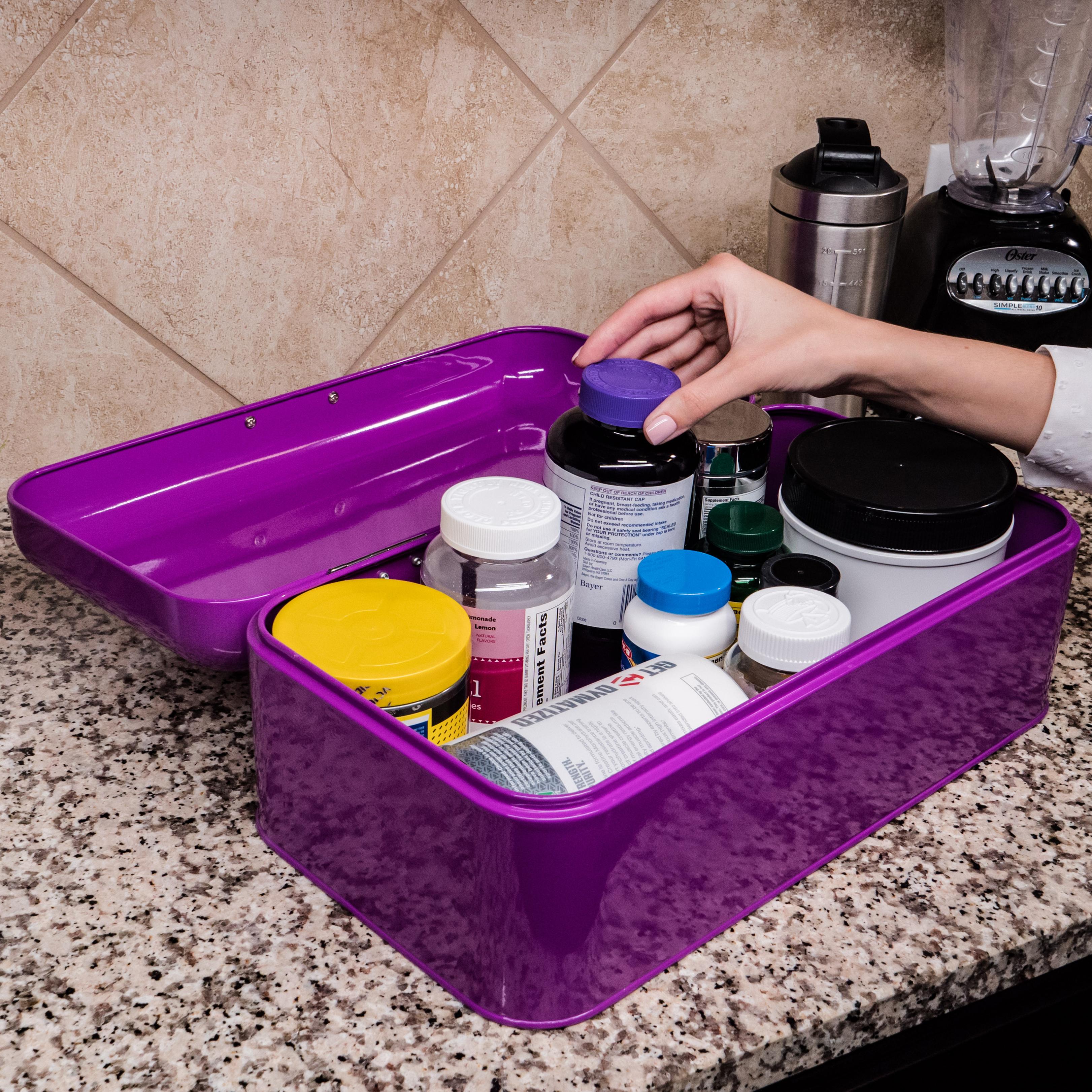 Purple Bread Box