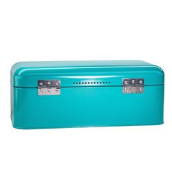 Turquoise Bread Box Storage