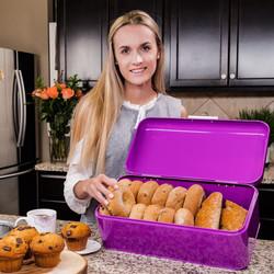 Purple Breadbox kitchen