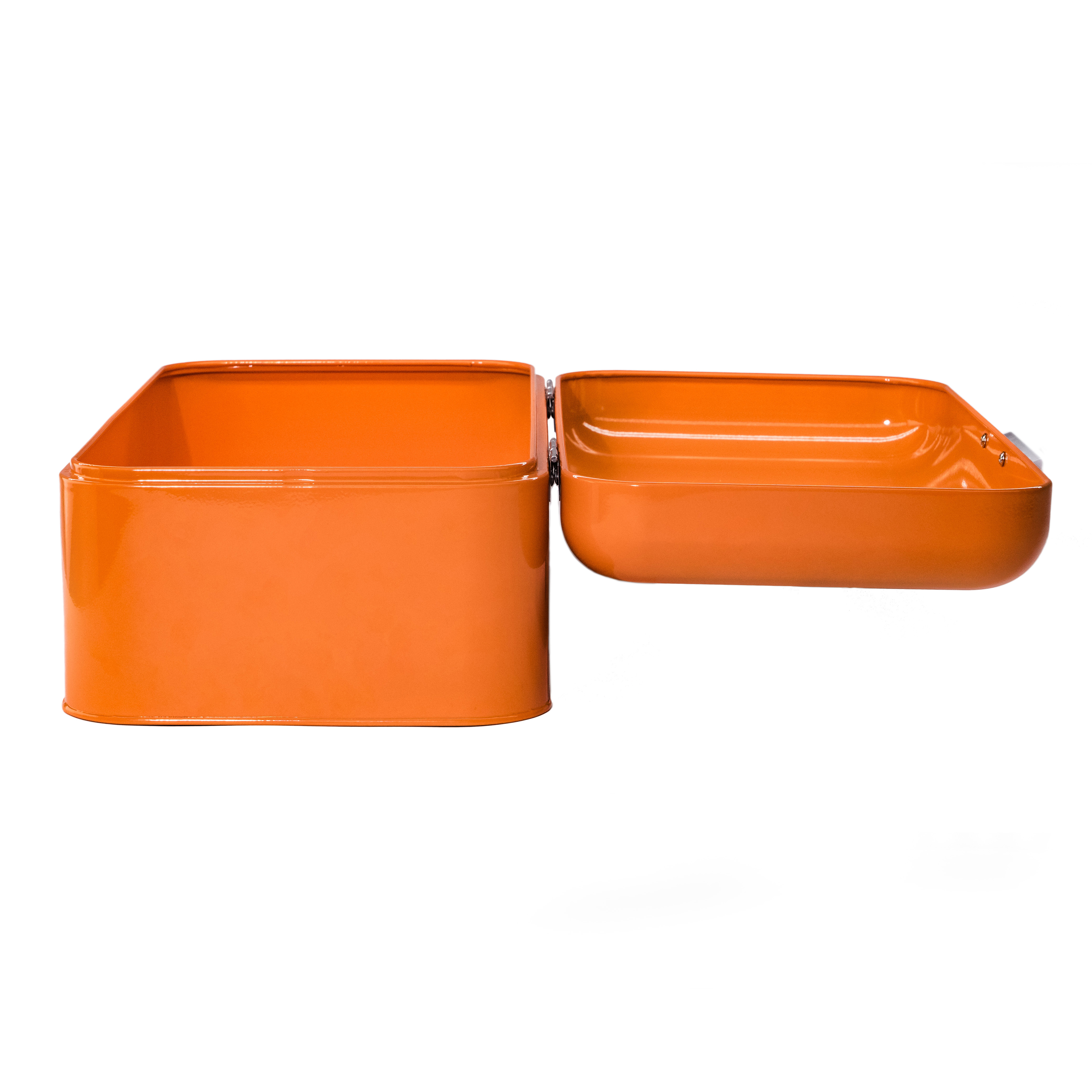 Orange Bread Bin Side