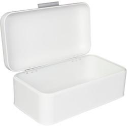 White Storage Bin